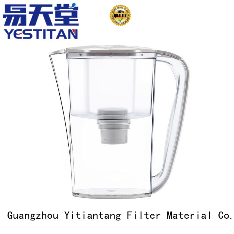 Yestitan Filter Kettle glass water filter pitcher supplier for company