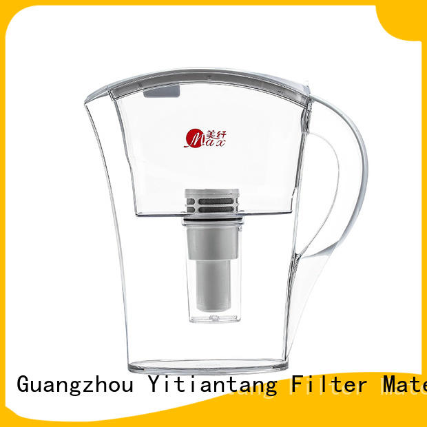 good quality glass water filter pitcher supplier for workplace