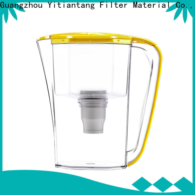 reliable glass water filter pitcher directly sale for workplace