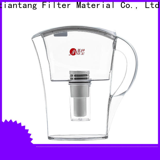 good quality glass water filter pitcher supplier for office