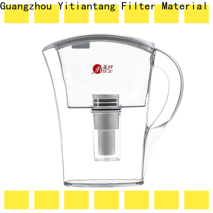 practical glass water filter pitcher supplier for office