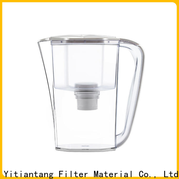 good quality glass water filter pitcher on sale for office
