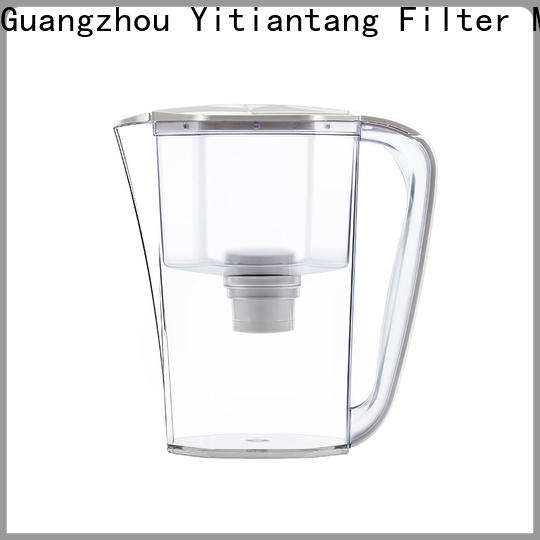durable glass water filter pitcher supplier for office