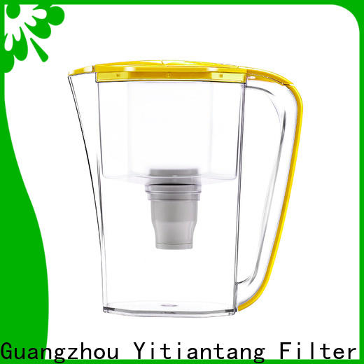 durable glass water filter pitcher supplier for home