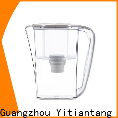 practical glass water filter pitcher on sale for home