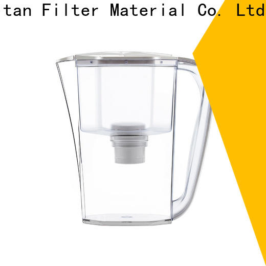 reliable glass water filter pitcher supplier for company