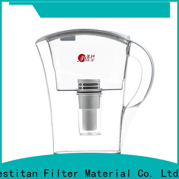 reliable glass water filter pitcher on sale for company