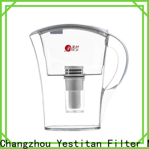 practical glass water filter pitcher manufacturer for office