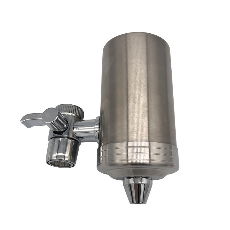 Stainless steel Faucet water filtration system